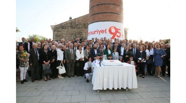 Cumhurriyet Gazetesi Kuruluşunu kutladı