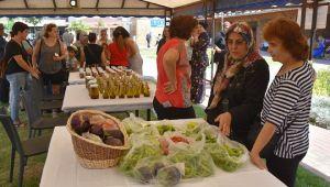 Kadın üreticilerin ilk doğal ürünleri satışa çıktı