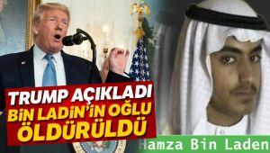 ABD Başkanı Donald Trump açıkladı: Bin Ladin'in oğlu öldürüldü