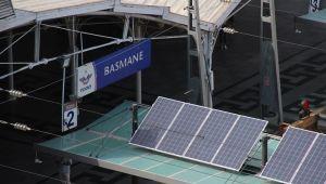 Basmane Garı kendi elektriğini kendisi üretiyor