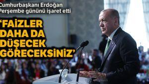 Cumhurbaşkanı Erdoğan: 'Faizler düştükçe enflasyon da düşecek'