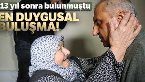 13 yıl sonra Antalya'da bulunan Ahmet Çavuş, annesine kavuştu