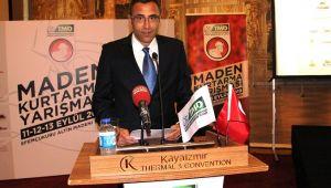 Maden Kurtarma Yarışması İzmir'de başlıyor