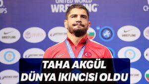 Taha Akgül, Dünya ikincisi oldu