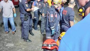 200 metrelik uçurumdan yuvarlandılar: 1 ölü