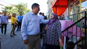Başkan Sandal, mahalleleri tek tek geziyor