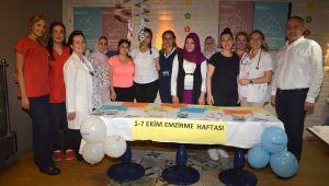 Egepol'den Dünya Emzirme Haftası Etkinliği
