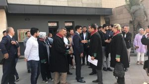 İzmir Barosuna bir tepki de HUDER'den geldi