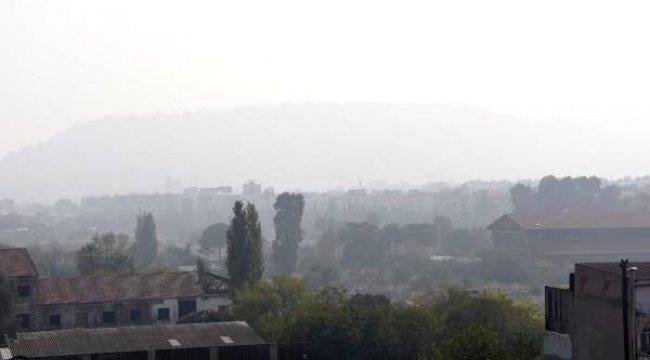 İzmir'de sis etkili oldu