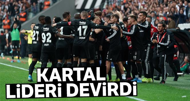 Beşiktaş Lideri Devirdi