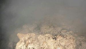 Pamuk deposu sabaha kadar yandı, hasar büyük