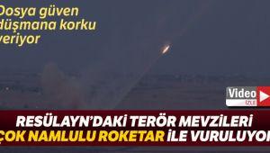 Resülayn'daki terör hedefleri ÇNRA ile vuruluyor