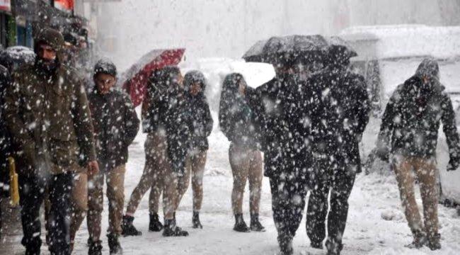 Meteoroloji'den son dakika uyarısı! Hafta sonu kar yağışı etkili olacak