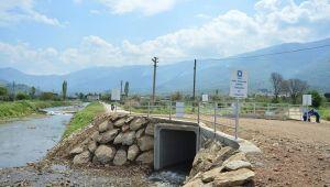 Tasavra Çayındaki sular artık Beydağ Barajına aktarılacak