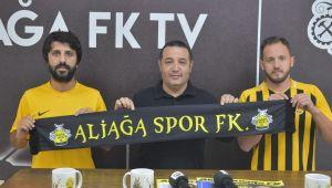 Aliağaspor FK'dan defansa iki takviye