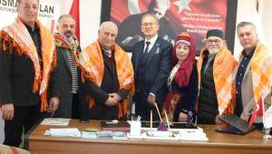 Kültür Turizm Müdürü Akyol'u Ziyaret