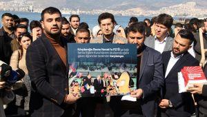 AK Partili gençlerden 'CHP-FETÖ iş birliği sergisi'