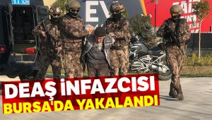 DEAŞ infazcısı Bursa'da yakalandı