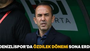 Denizlispor'da Mehmet Özdilek dönemi sona erdi