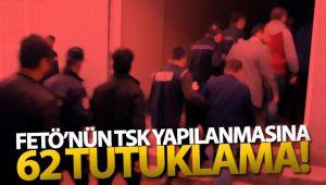 İzmir'deki büyük FETÖ operasyonunda 62 kişi tutuklandı