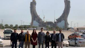Katar'dan ihracat bağlantılarıyla döndüler