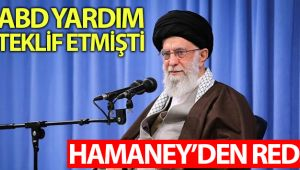 İran lideri Hamaney'den ABD'nin salgınla mücadele için yardım teklifine red
