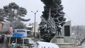 Kar Yağdı Ekipler alarma geçti