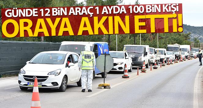 Bodrum'a günde 12 bin araç, bir ayda 100 bin tatilci akın etti