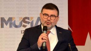 MÜSİAD İzmir'den 'Biz Bize Yeteriz Türkiyem' kampanyasına destek