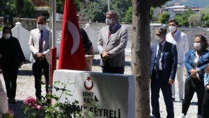 Başkan Duran,Bayramı Şehit Aileleri ile Karşıladı