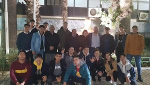 CHP Kemalpaşa'dan gençlere Nutuk ve mektuplu çağrı