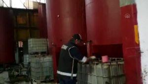 110 ton kaçak akaryakıt ele geçirildi
