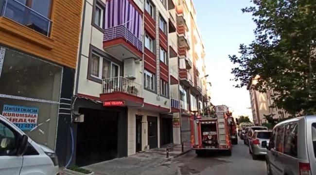 Apartman dairesinde çıkan yangında iki kişi yaralandı