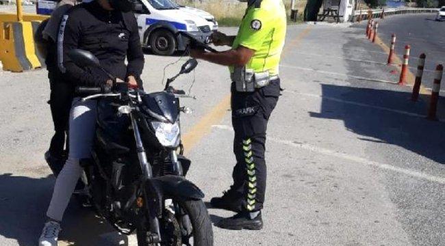 İzmir'de drone destekli trafik denetimi