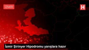 İzmir Şirinyer Hipodromu yarışlara hazır