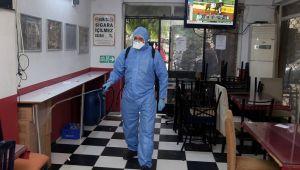 Karabağlar'da dört bir yanda dezenfeksiyon