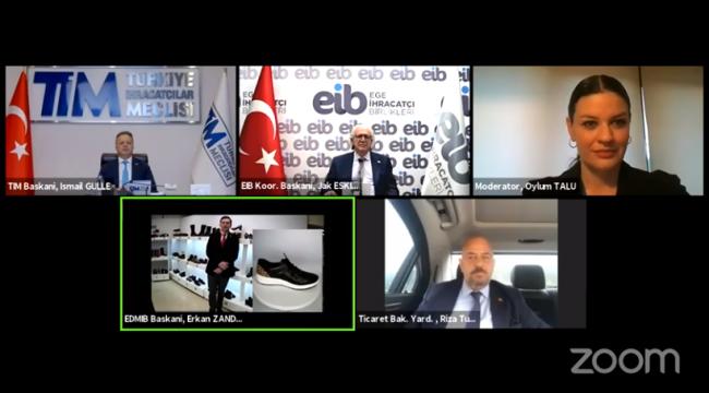 Türkiye'nin ilk sanal fuarı Shoedex başladı