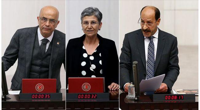 Üç ismin milletvekilliği düşürüldü