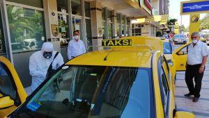 2 Bin 823 Taksi Her Hafta Dezenfekte Ediliyor