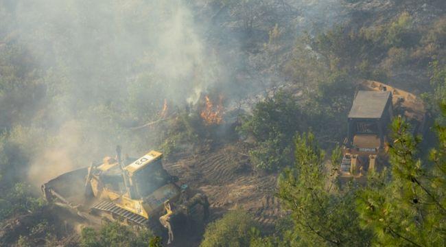 İzmir'in Menderes ilçesindeki yangınla ilgili bir şüpheli tutuklandı