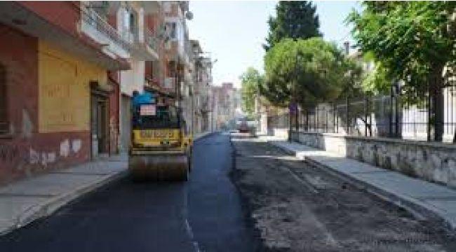 Konak sokaklarına 7 ayda 3 bin 800 ton asfalt