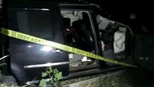 Şarampole devrilen araçtaki 2 kişi öldü