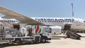 Yeni Tesisten İlk Yakıt İkmali Türk Hava Yolları'na Gerçekleştirildi