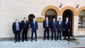 Burhaniyeliler Bosna-Hersek Büyükelçiliğini ziyaret etti