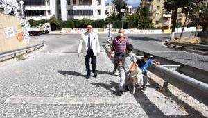 'Eğimli yol'a keçili protesto