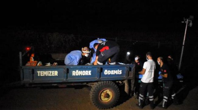 İzmir'de, 'kaçak kazı' yapmak için 13 metrelik kuyuya giren 5 kişiden 2'si öldü