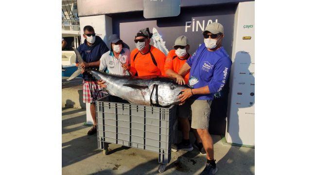 Tuna Masters Alaçatı'da Altın Kemer Shamu'nun