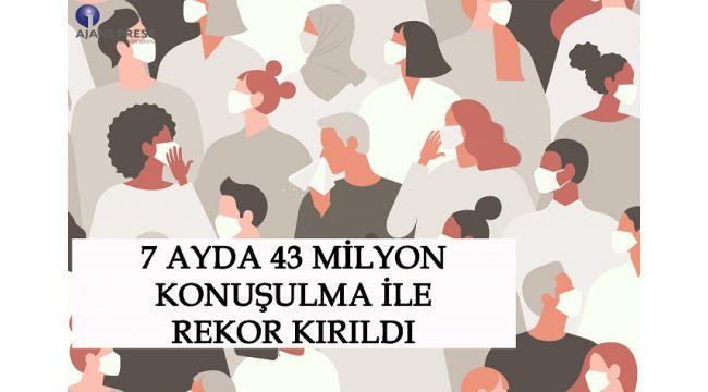 7 Ayda 43 Milyon Konuşulma İle Rekor Kırıldı