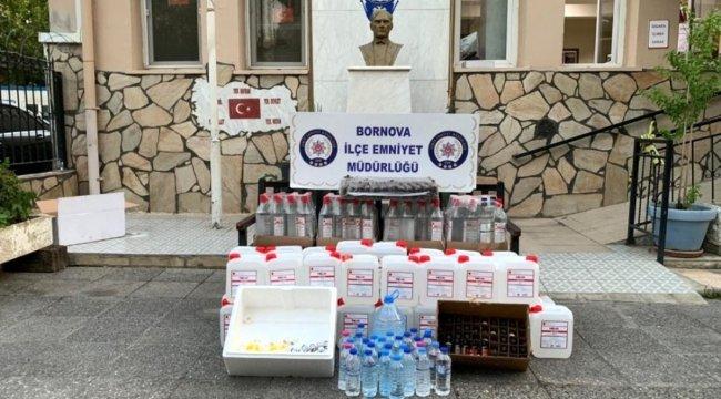 İzmir'de sahte içki satan kokoreççiye operasyon