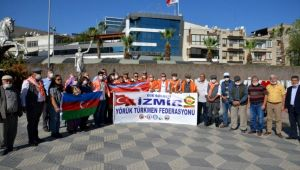 Menemen'den Azerbaycan'a 'Yanınızdayız' mesajı